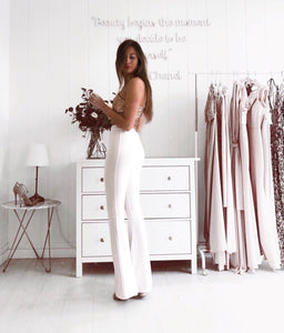 Bell pants (white)