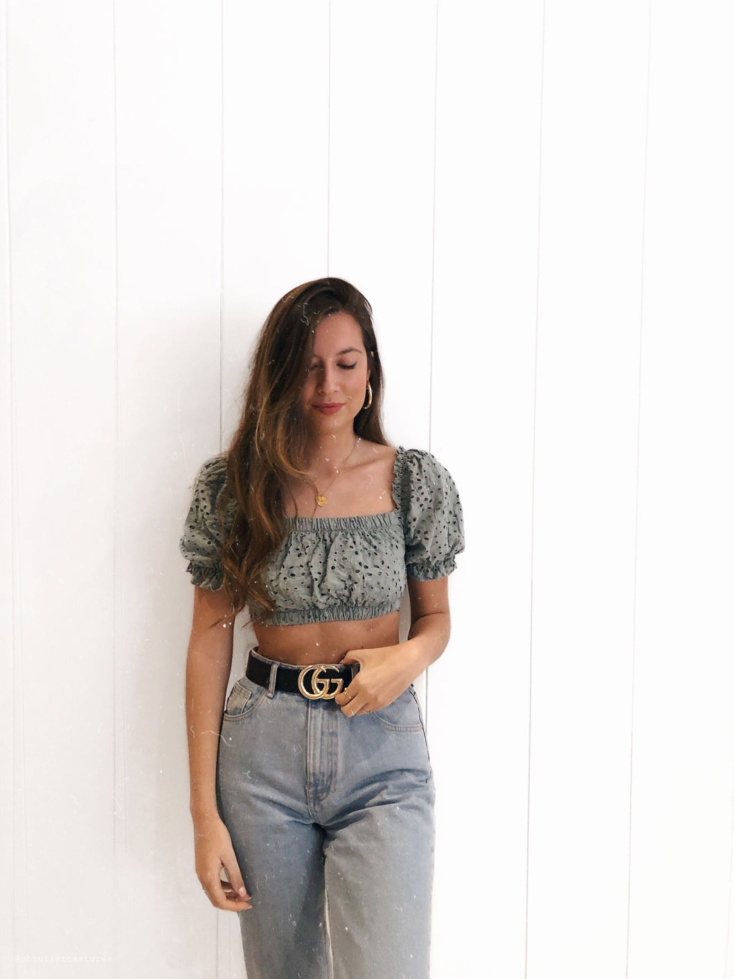 Pretty crop top