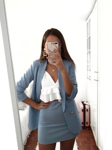 Glam suit (baby blue)
