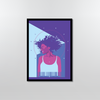 Ultraviolet Framed Poster