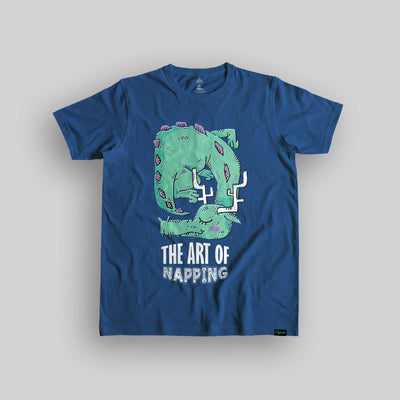 The Art Of Napping Unisex Organic Cotton T-shirt - Yo aatma