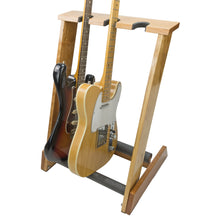 Load image into Gallery viewer, 3 Space Electric Guitar Stand - AllwoodStands