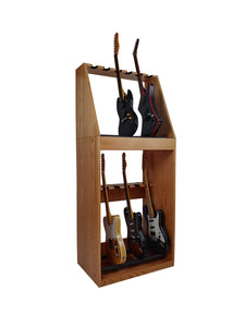 12 Space Guitar Cabinet w/Removable 6 Space Stand - AllwoodStands