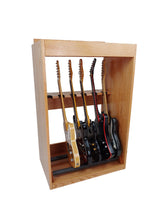 Load image into Gallery viewer, 12 Space Guitar Cabinet w/Removable 6 Space Stand - AllwoodStands