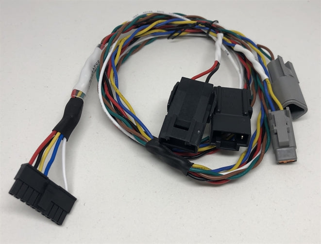 Access Panel Cable for Volvo & Mack 2020 or above models. Black Power Connector