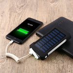 Batterie externe solaire - Power Bank 30000mah