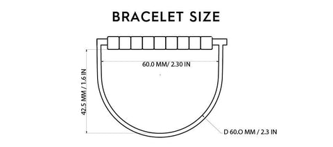 I love You Bracelet Size