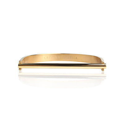 Basic Gold Bracelet by Cristina Ramella