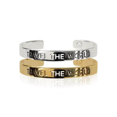 Rhodium and 24K Gold Plated Build your Stack Bracelets by Cristina Ramella