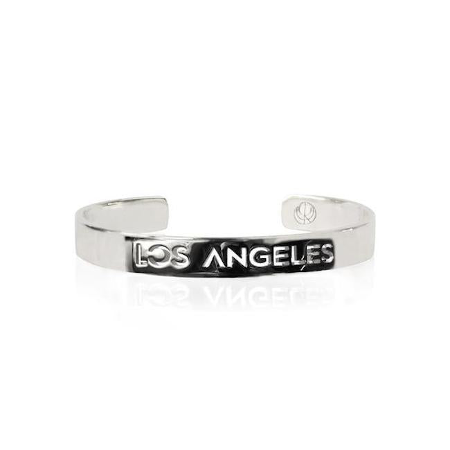 Sample Rhodium Plated Los Ángeles Bracelet by Cristina Ramella