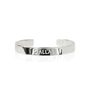 Rhodium Dallas Bracelet by Cristina Ramella