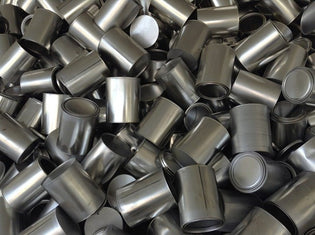 Tin cans made from aluminium