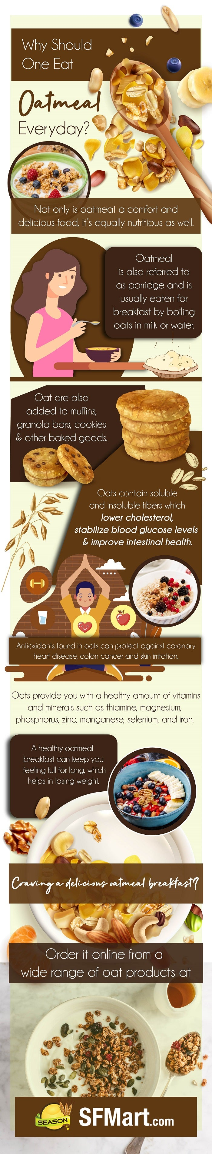 Why Should One Eat Oatmeal Everyday?