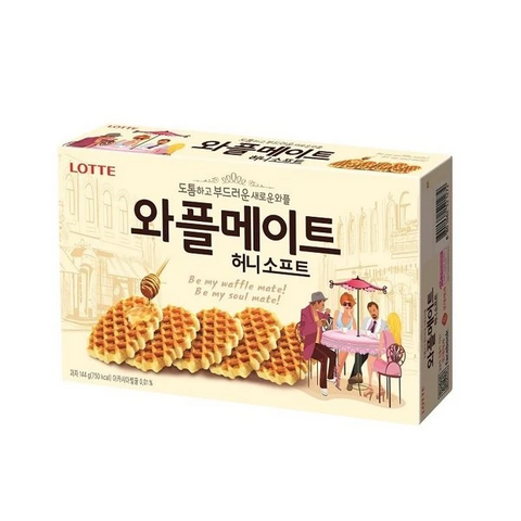 The Waffle Mate Multi biscuits by Lotte