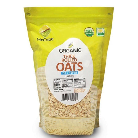Thick rolled oats at S.F. Mart