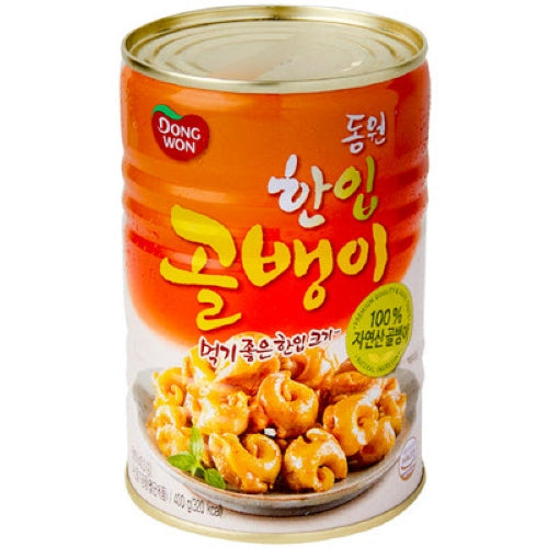 SFMart Dongwon Small Bai-Top Shell (동원 한입골뱅이)400g Canned Foods- SFMart