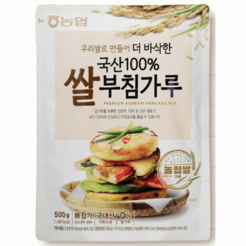 SFMart Nonghyub Rice Pancake Mix (농협 쌀부침가루) 500g Powder & Mix- SFMart