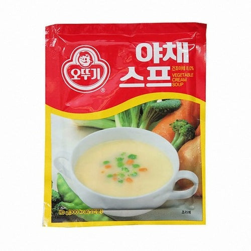 SFMart Ottogi Vegetable Cream Soup Mix (오뚜기 야채스프) 80g Porridge & Soup- SFMart