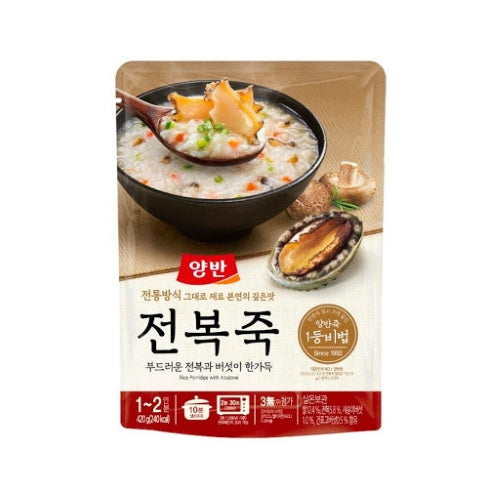 SFMart Dongwon Rice Porridge with Abalone(동원 전복죽)420g Porridge & Soup- SFMart
