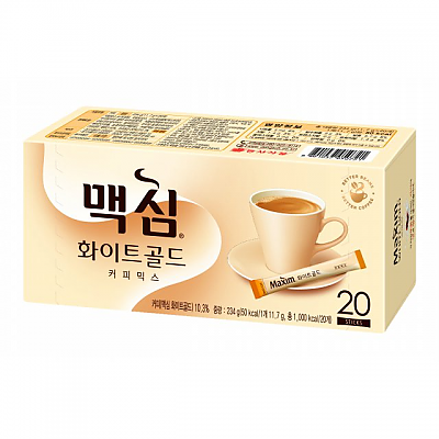 SFMart Dongsuh Maxim White Gold Coffee Mix (동서 맥심 화이트 골드 커피믹스)20pks Tea & Coffee- SFMart