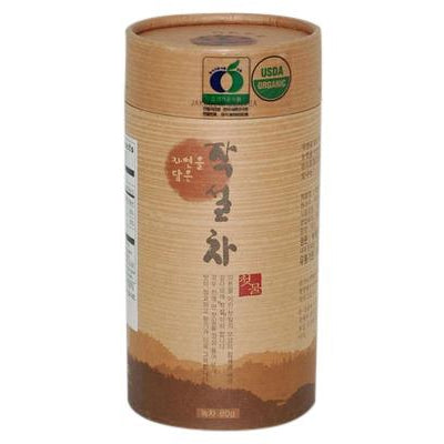 Hankook Tea Organic Green Tea - Chut Mool [80g canister] Tea & Coffee- SFMart