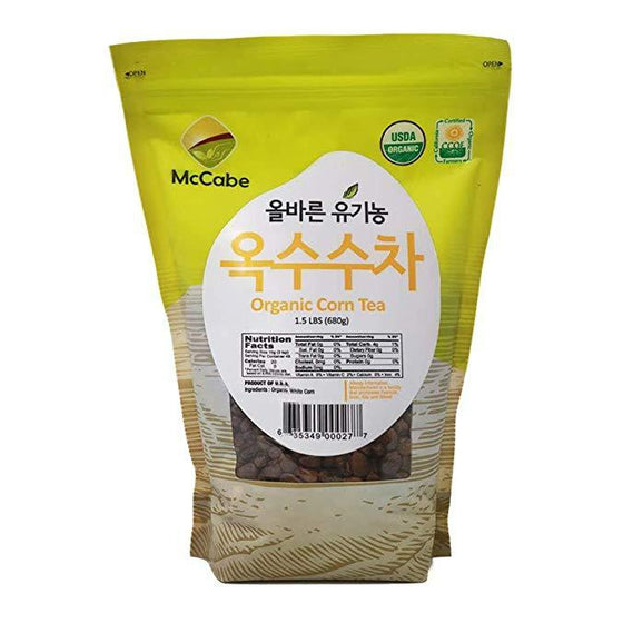 McCabe Organic Corn Tea (옥수수차) 1.5lbs - SFMart