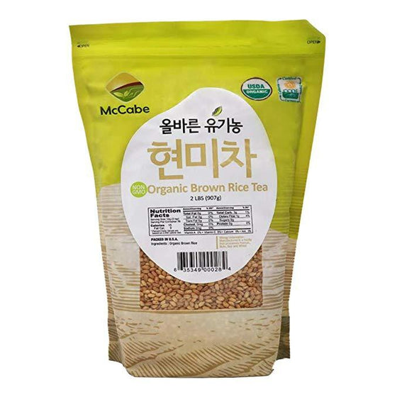 SFMart McCabe Organic Brown Rice Tea (현미차) 2lbs Processed- SFMart
