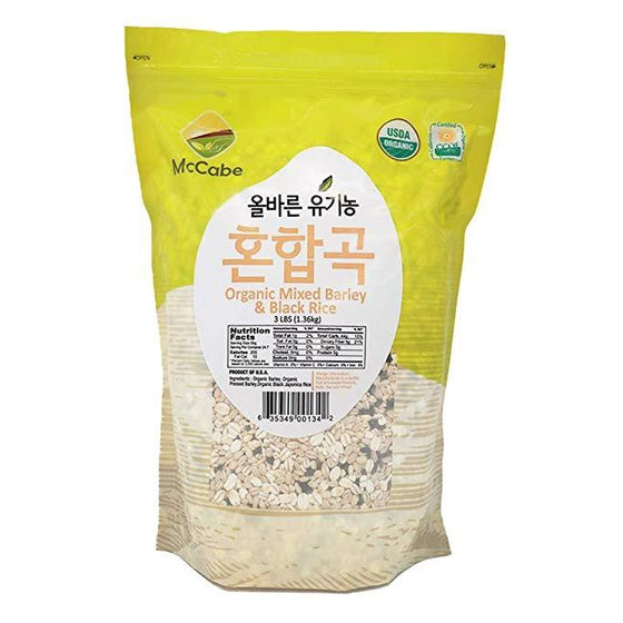 McCabe McCabe Organic Mixed Barley & Black Rice Grain & Rice- SFMart