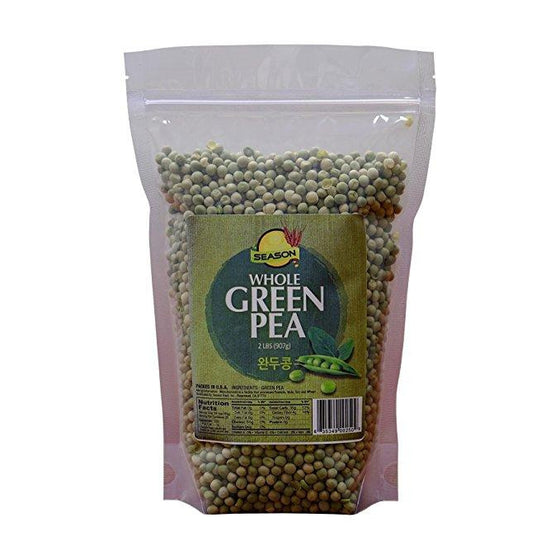 SFMart Season Whole Green Pea 2lbs Bean & Lentil- SFMart