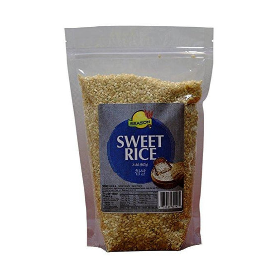 Season Season White Sweet Rice, 2-Pound Grain & Rice- SFMart
