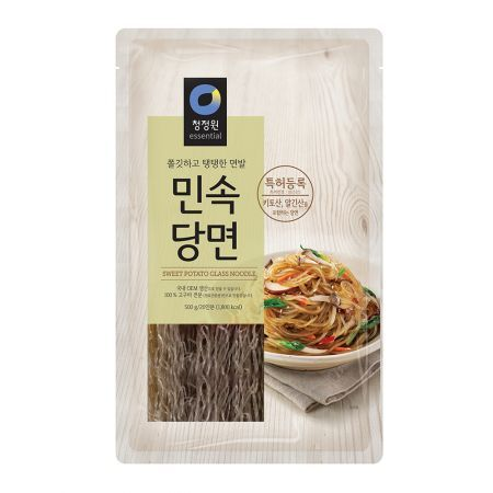 SFMart Chung Jung One Sweet Potato Glass Noodle (청정원 민속당면)500g Noodles- SFMart