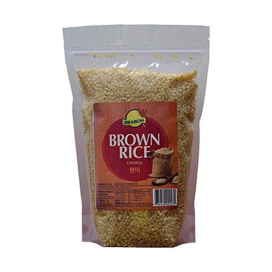 SFMart Season Brown Rice 2lbs Grain & Rice- SFMart