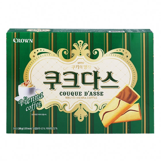 Crown Couque Dasse Vienna Coffee (쿠크다스) 288g - SFMart