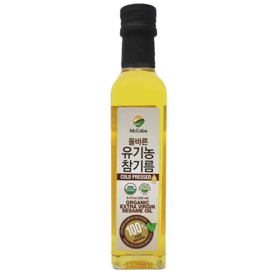 McCabe Organic Extra Virgin Sesame Oil, 8.4oz - SFMart