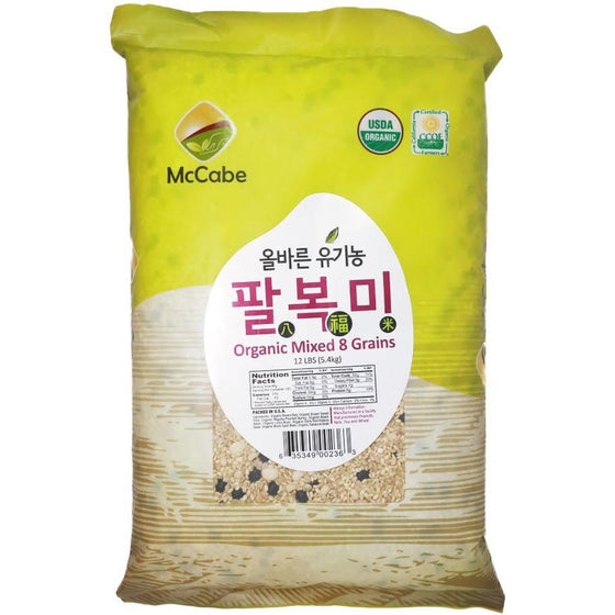 McCabe McCabe Organic 8 Mixed Grain Grain & Rice- SFMart