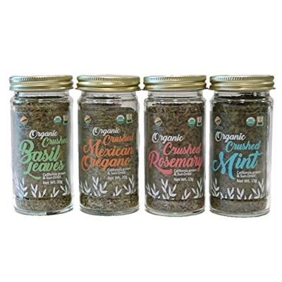 SFMart McCabe Organic Crushed Herbs (4-Pack) Sauces & Spices- SFMart