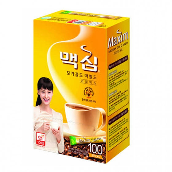 Dongsuh Maxim Mocha Gold Mild Coffee Mix (맥심 모카골드 마일드)100pks - SFMart