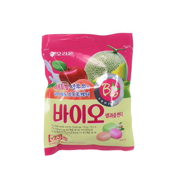 SFMart Orion Bio Fruit Soft Candy  (오리온 바이오 생과즙 캔디) 100g Snacks- SFMart