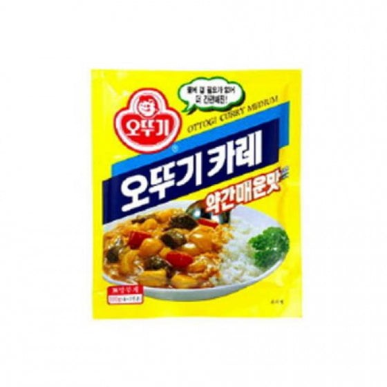 SFMart Ottogi Curry Powder - Med Hot (오뚜기 카레 약간매운맛) 500g Curry Sauce- SFMart