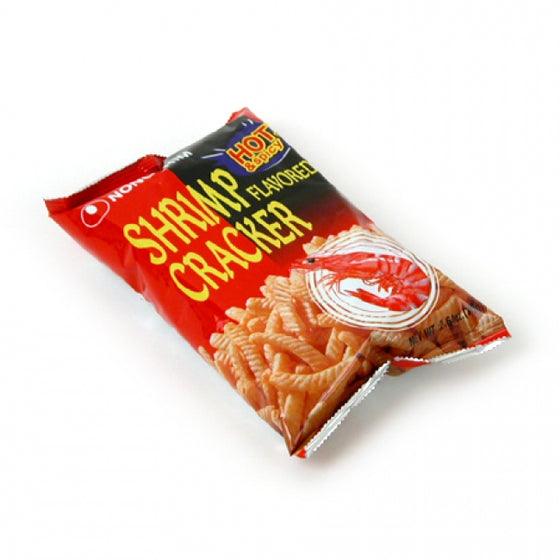 SFMart Nongshim Shrimp Cracker - Hot and Spicy (농심 새우깡 매운맛) 75g Snacks- SFMart