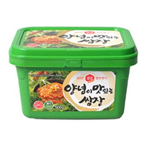 SFMart Sempio Seasoned Soybean Paste (샘표 양념이 맛있는 쌈장) 1kg Sauces & Spices- SFMart