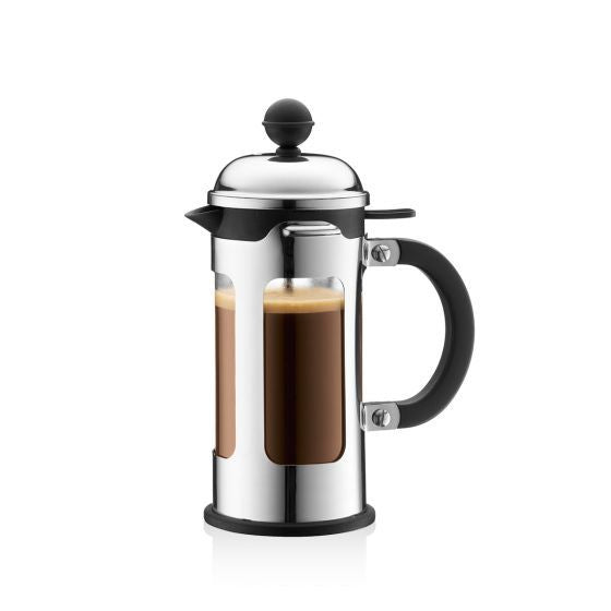 SFMart Bodum Chambord French Press Coffee Maker, 8 cup, 1.0 l, 34 oz, stainless steel Tea & Coffee- SFMart