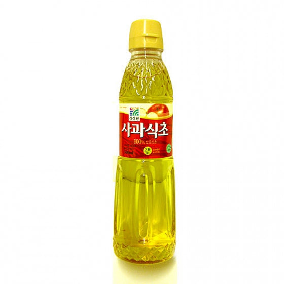 SFMart Chung Jung One Fermented Apple Vinegar (청정원, 사과식초) 500ml Sauces & Spices- SFMart