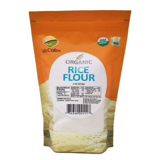 SFMart McCabe Organic Rice Flour 1lb Powder & Mix- SFMart