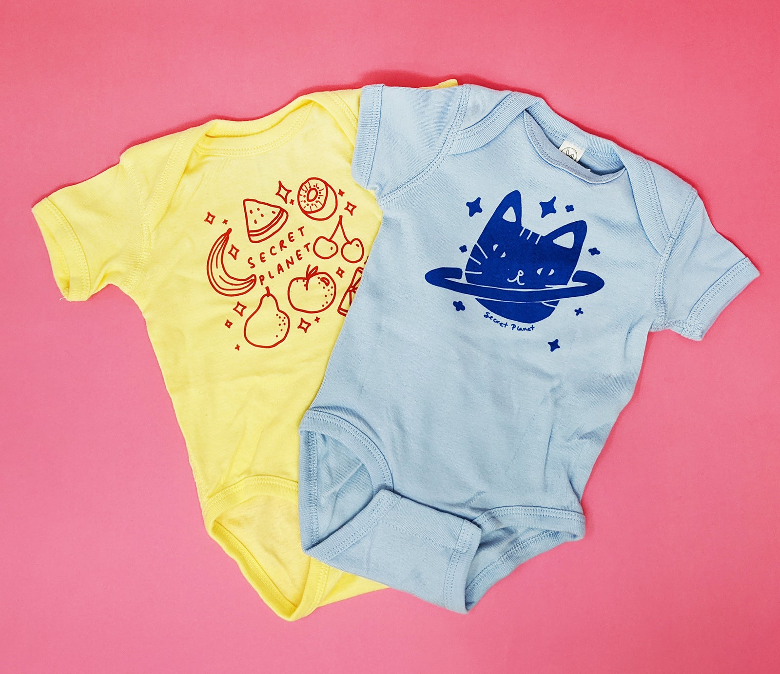Secret Planet Onesie 2 Pack!
