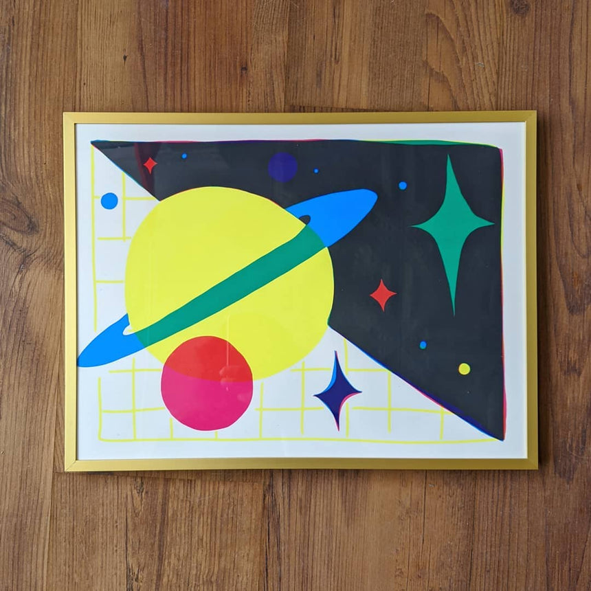 Space Magic I Screen Print
