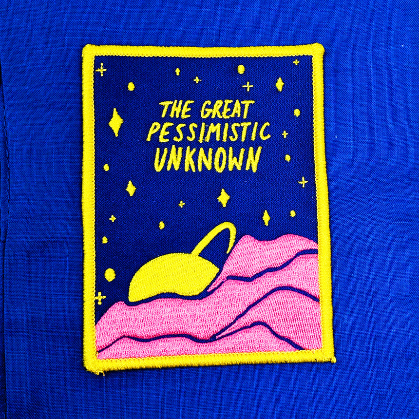 The Great Pessimistic Unknown Iron-On Patch