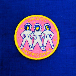 Galactic Professionals Iron-On Patch