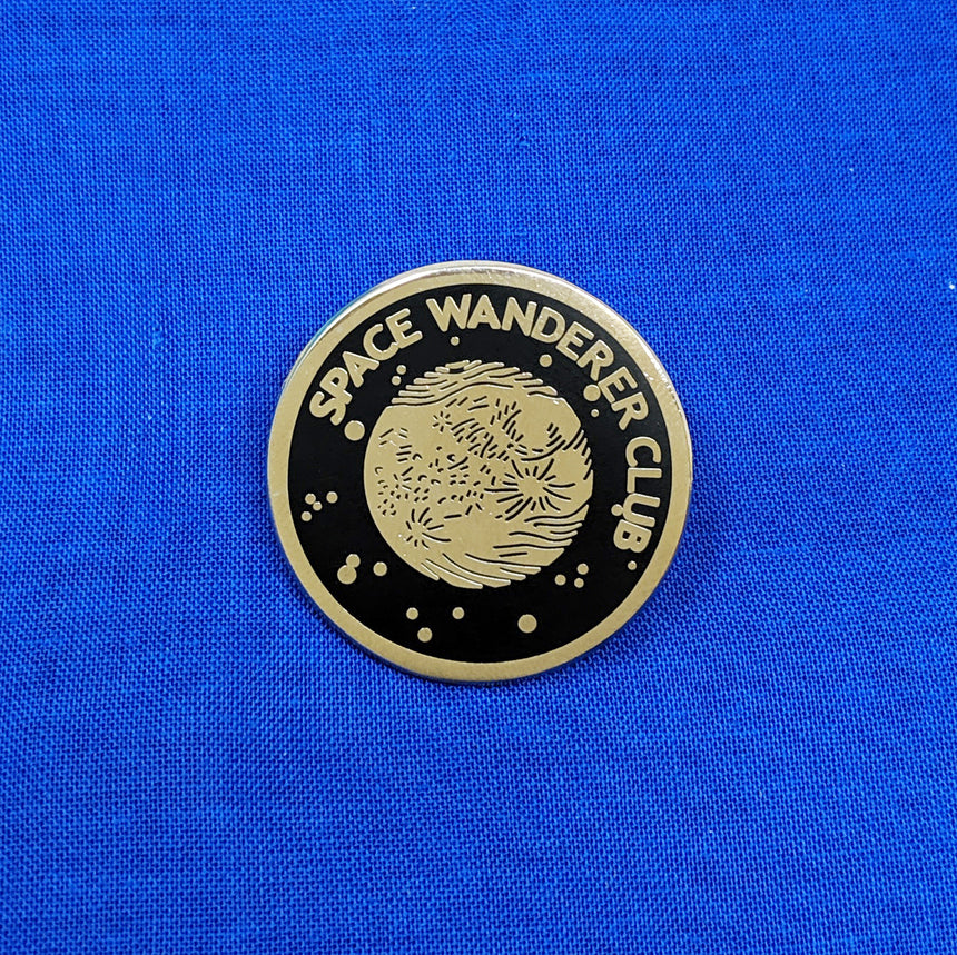 Space Wanderer Club Pin