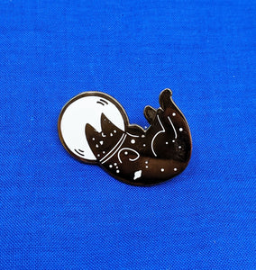 Astro Kitty Pin